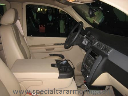 Bullet Proof Chevy Tahoe - Interior